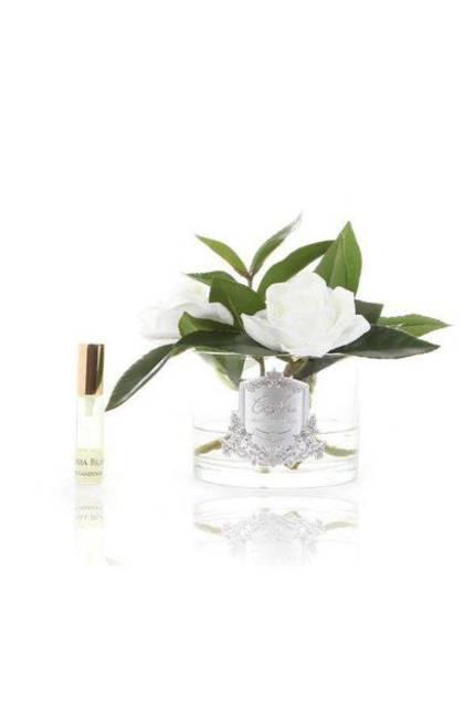 Perfumed Triple Gardenias - Clear