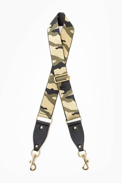 Bag Strap - Khaki Gold Camo