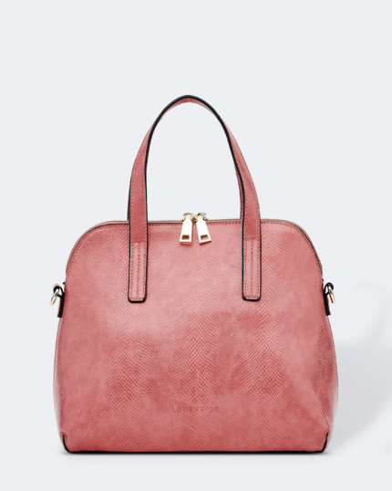 Candice Lizard Bag - Blush