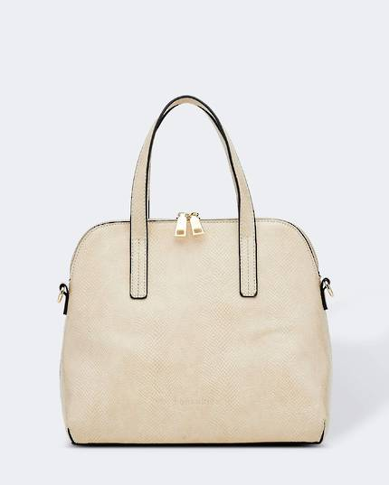 Candice Lizard Bag - Oyster