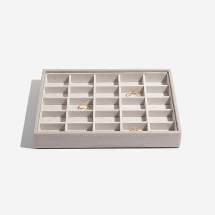 Classic Jewellery Box Trinket Layer - Taupe
