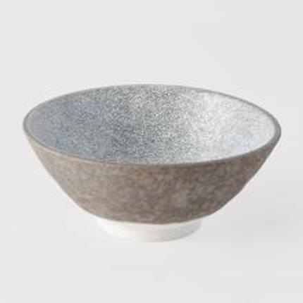 Crazed Grey Udon Bowl