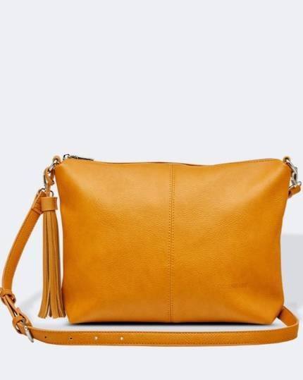 Daisy Cross Body Bag - Mustard