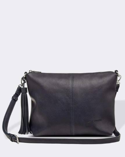 Daisy Cross Body Bag - Navy