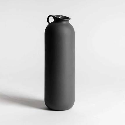 NED Flugen Vase Tall Dark Grey