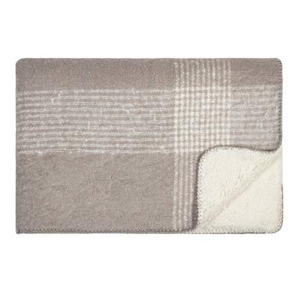 Soft Sherpa Throw - Grey/Cream