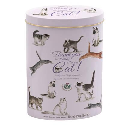 Thank You Fudge Tin - Cats