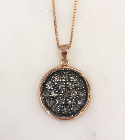 Fume Crystal Necklace