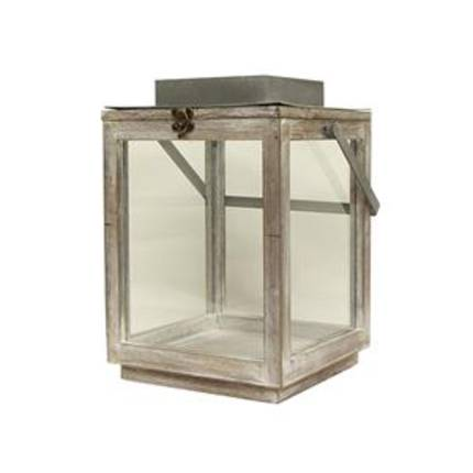 French Country - Remy Square Lantern Large