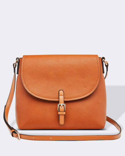 Lucia Cross Body Bag - Tan