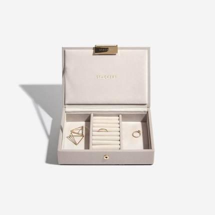 Mini Jewellery Box Lid - Taupe