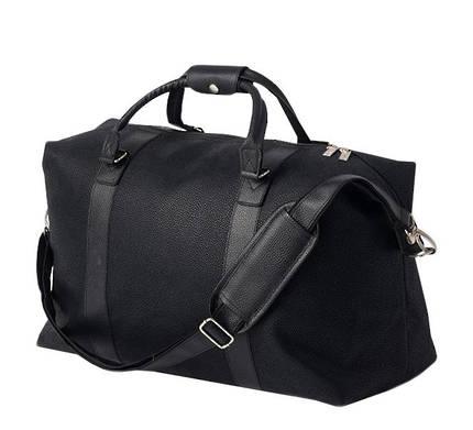 Canvas Weekender Bag - Black