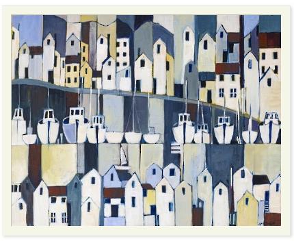 Stephanie Crisp Art - Port Layers
