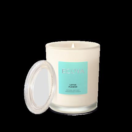 ECOYA Candle in Metro Jar - Lotus Flower