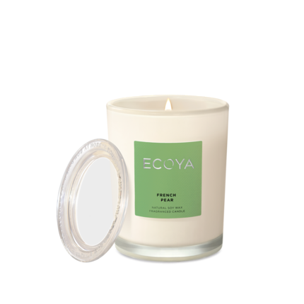 ECOYA Candle in Metro Jar - French Pear