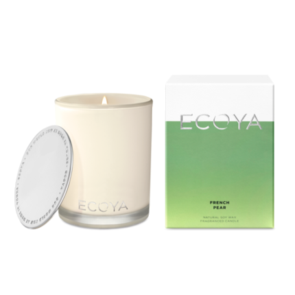 ECOYA Candle in Madison Jar - French Pear