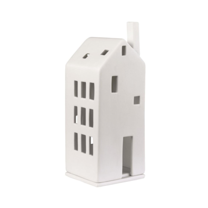 Porcelain Tealight House - Large Door