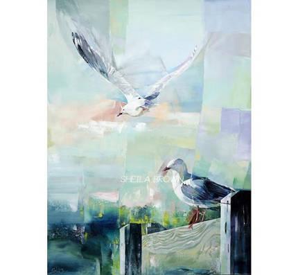 Sheila Brown Art - Sea Breeze