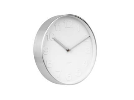 Karlsson Mr. White Clock