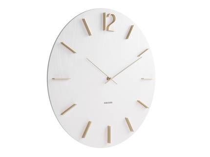 Karlsson Meek Wall Clock - White