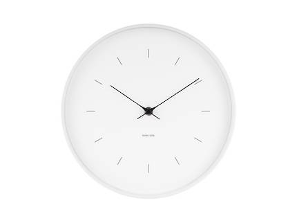 Karlsson Butterfly Wall Clock - White