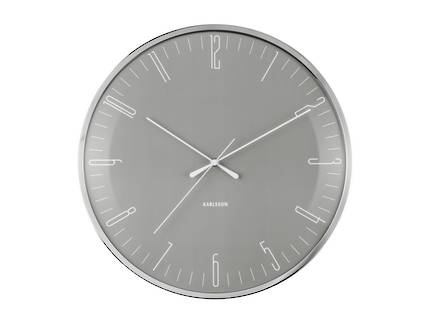 Karlsson Dragonfly Wall Clock - Grey