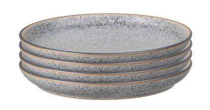 Studio Grey Medium Plates - Set of 4
