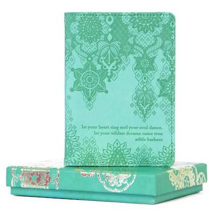 Passport Holder - Tahitian Turquoise