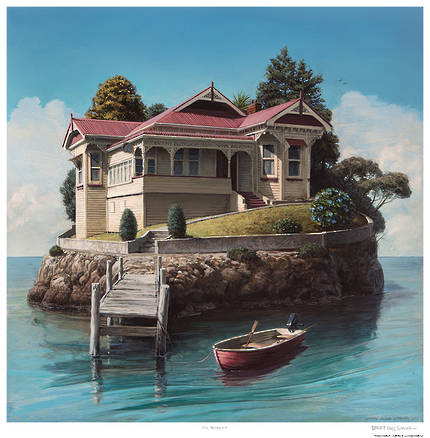 Barry Ross Smith Framed Print - The Retreat