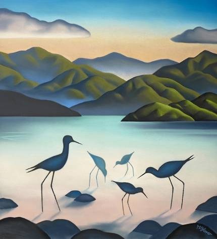 Mike Glover Art - Whanau
