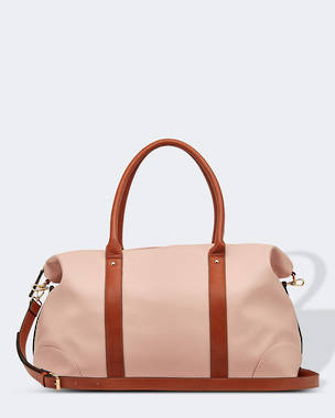 Alexis Travel Bag - Dusty Pink