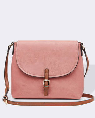 Lucia Cross Body Bag - Blush