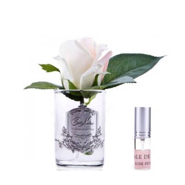 Perfumed Rose Bud - Pink Blush Clear
