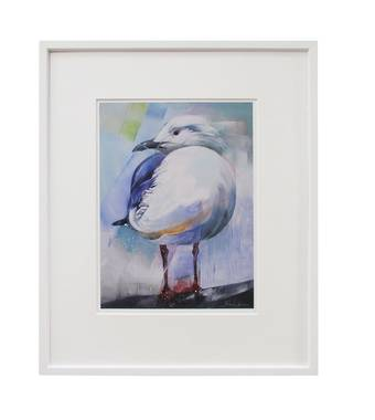Sheila Brown Art - Portrait of a Gull