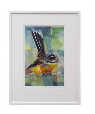 Sheila Brown Art - Wee Fantail