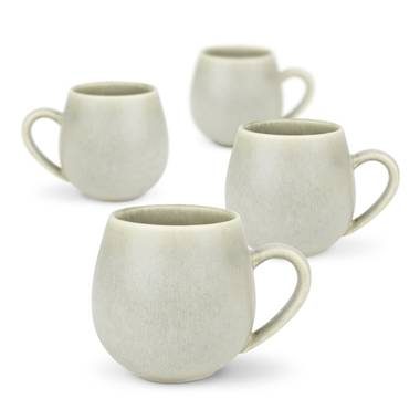 Hug Me Mugs 4 pack - Sage