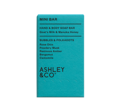 Ashley & CO. Mini Soap Bar - Bubbles & Polkadots