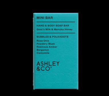 Ashley & CO. Mini Soap Bar - Bubbles & Polkadots