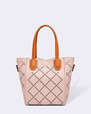 Baby Bermuda Handbag - Pale Pink