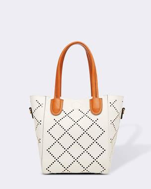 Baby Bermuda Handbag - White