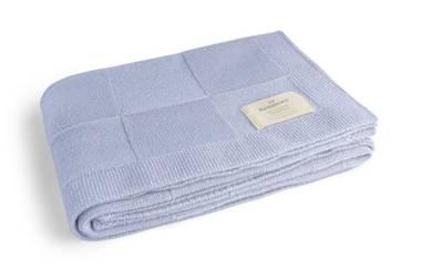 Benmore Baby Wool Blanket - Blue