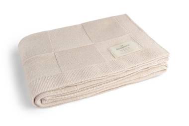 Benmore Baby Wool Blanket - Blush Pink