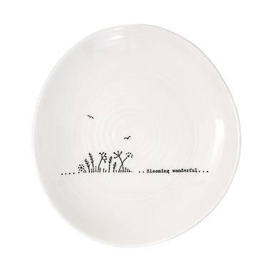 Wobbly Trinket Plate - Blooming Wonderful