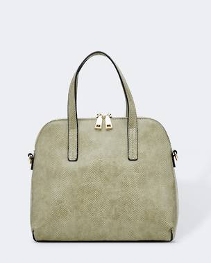 Candice Lizard Bag - Khaki