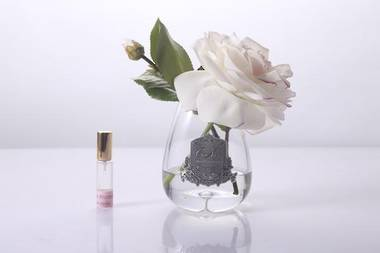 Perfumed Tea Rose - Pink Blush Clear