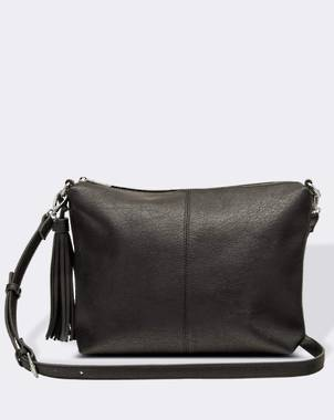 Daisy Cross Body Bag - Black