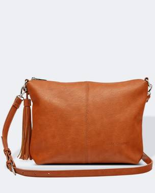 Daisy Cross Body Bag - Tan