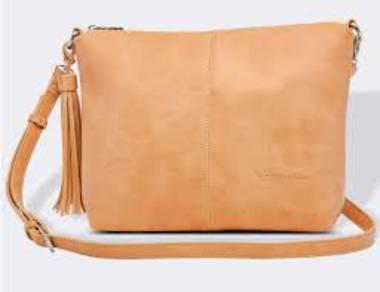 Daisy Cross Body Bag - Camel