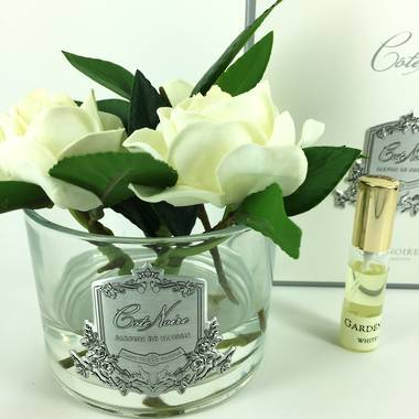 Perfumed Triple Gardenias - Clear