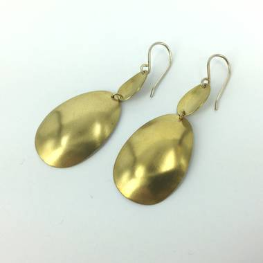 Doal Brass Earrings